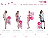 Elvi  /  ecommerce website