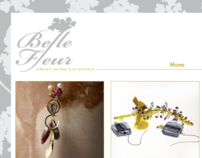 Belle Fleur Website