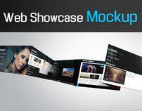 Photoshop Web Showcase Mockup