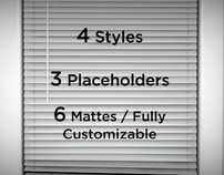 Blinds After Effects Template