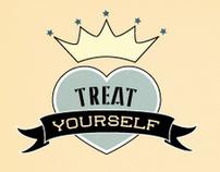 Treat Yourself Brand Identity