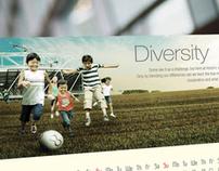 Holcim Malaysia Calendar Design