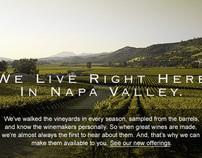 Dean & DeLuca_Wine Website