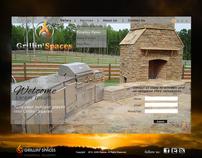 High-End Outdoor Contractor Web Design Template