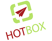 HotBox Logo Design