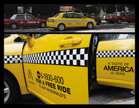 McDonald's Yellow Cabs