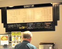 Berkeley Cafe Signage Design