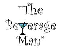 """Logo for Bartender called """"The Beverage Man"""""""