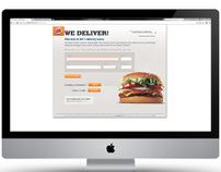Burger King Delivers Web App