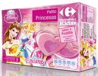 Disney + Carrefour co-branding: Packaging Design