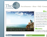 Thrive Counseling Website