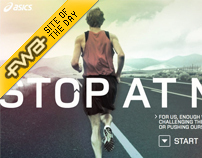 Asics - Stop at Never