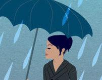 """Umbrella"" (Single) Album Cover - Rihanna (feat. Jay-Z)"
