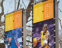 Upper Deck corporate banners