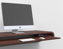 MINIMAL WALL DESK for the Modern Home