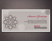 Boyle Fredrickson Holiday Client Card 2008