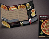 Tazinos Pizza & Salad Bistro Menu