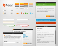 Origin GUI Elements