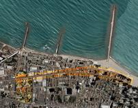 Praia de Iracema: vias e mobiliário urbano