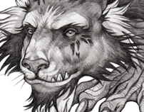 The Phantasmagorical Menagerie - character design