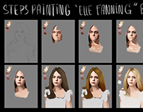 How to paint - Elle Fanning