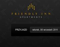 Friendly Inn Apartments  [Web Design]
