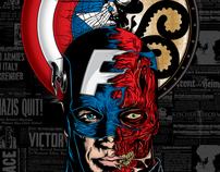 Cap v. Red Skull