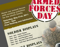 Armed Forces Day Schedule