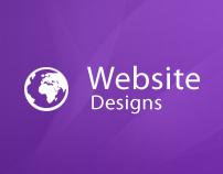 Website Designs 2009-12