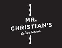 MR. CHRISTIAN'S
