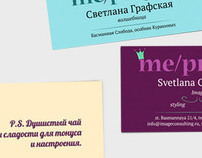 Corporate identity for «Me/project»