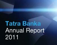 Tatra Banka Annual Report 2011 / MADE by Vaculik