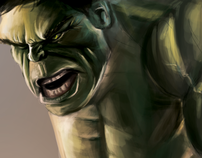 Digital Painting - Hulk