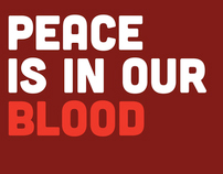 D&AD White Pencil: Peace Is In Our Blood