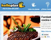 HelloPlan Website