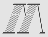 In motion Font