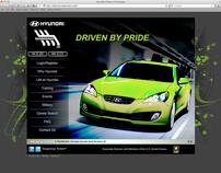 Hyundai Careers Redesign 2011