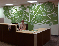 Provost Suite Wall Graphic
