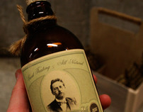 PACKAGE DESIGN: Dr. Marlen Westcott's All Natural Beer.