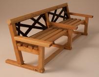 Holme family bench