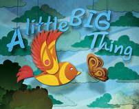 "Poster ""A little BIG Thing"""
