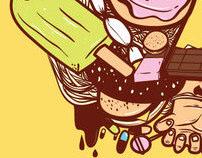 Threadless-Food mix