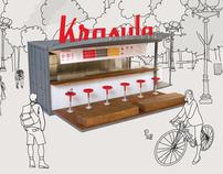 Krasula Pierogi Bar brand development