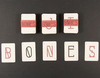 Bones Typeface & Specimen