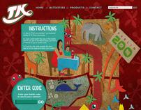 TK Lemonade Promotional Website