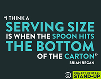 Comedy Central: StandUp Advertising Campaign