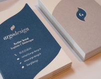 Business cards Letterpress