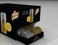 Schweppes Packaging Cum Gravity dispenser