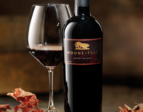 Moone Tsai Wines- label