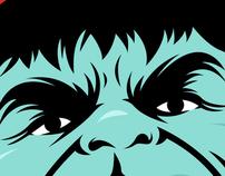 Incredible Hulk w/ braces